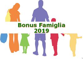 Bonus Famiglia 2019