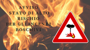Regione Lombardia – Avviso stato di alto rischio di incendio boschivo