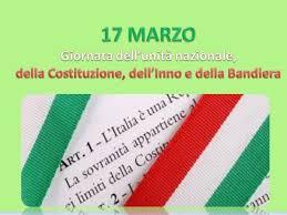 17 Marzo – Giornata dell'Unità Nazionale della Costituzione e della Bandiera
