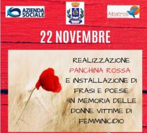 25 Novembre – Giornata internazionale per l'eliminazione della violenza contro le Donne.