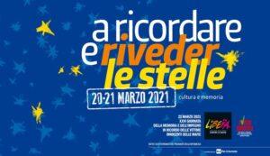 21 Marzo – Giornata Nazionale della Memoria e dell'Impegno in ricordo delle vittime innocenti delle mafie