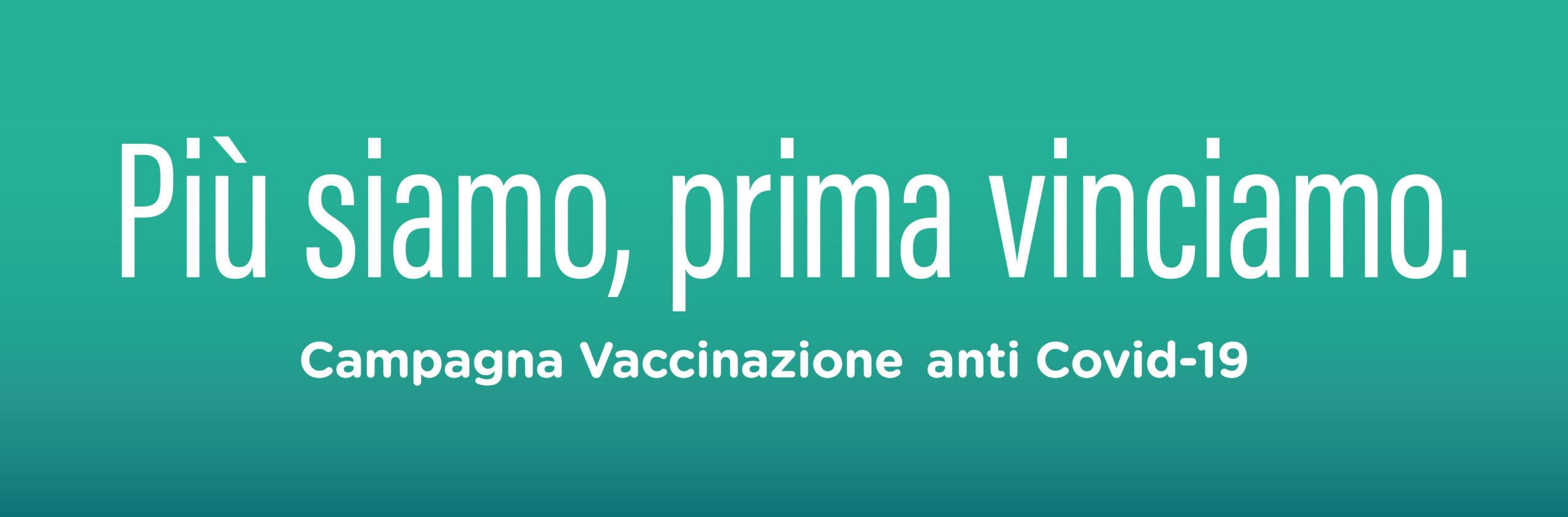 Campagna vaccinazione anti Covid -19